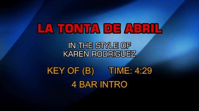 Karen Rodriguez - La Tonta De Abril