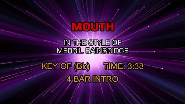 Merril Bainbridge - Mouth