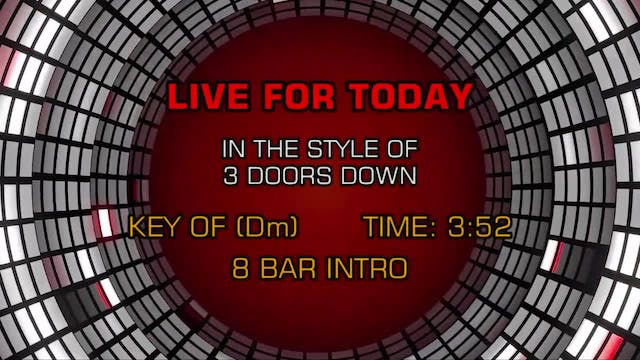 3 Doors Down - Live For Today