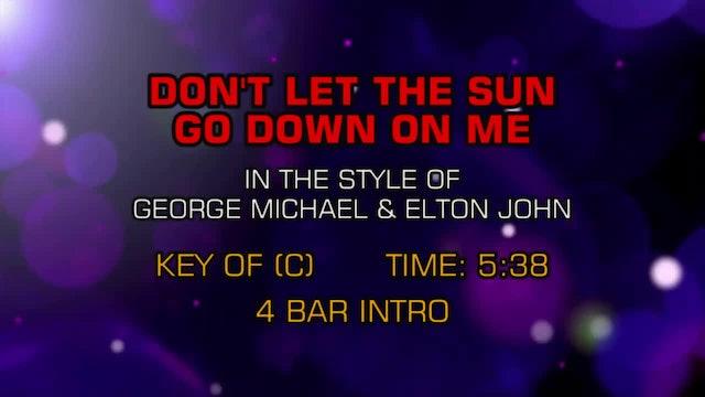 George Michael & Elton John - Don't Let The Sun Go Down On Me