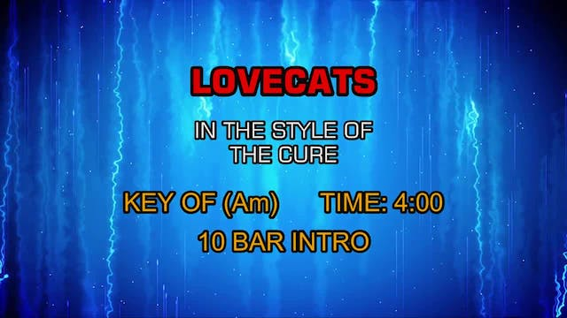Cure, The - Love Cats