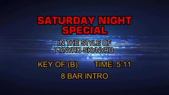Lynyrd Skynyrd - Saturday Night Special