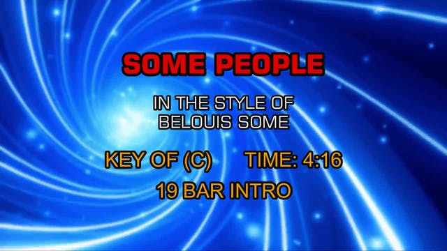 Belouis Some - Some People