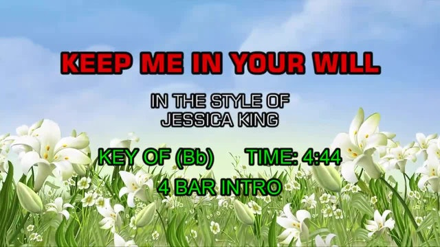 Jessica King - Keep Me In Your Will