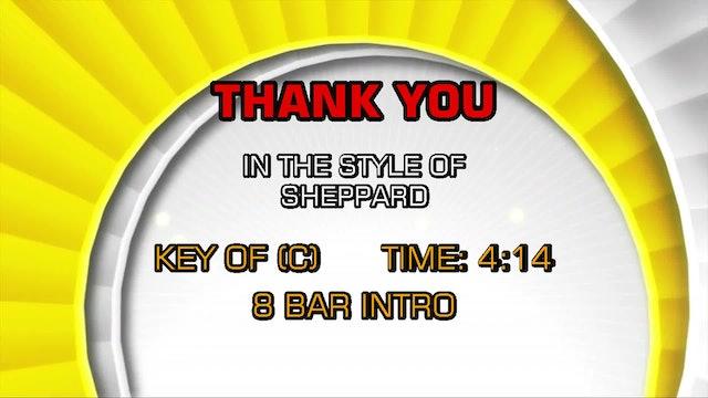 Sheppard - Thank You