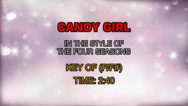Four Seasons, The - Candy Girl