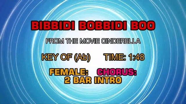 From Cinderella - Bibbidi Bobbidi Boo