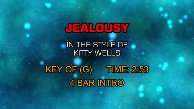 Kitty Wells - Jealousy