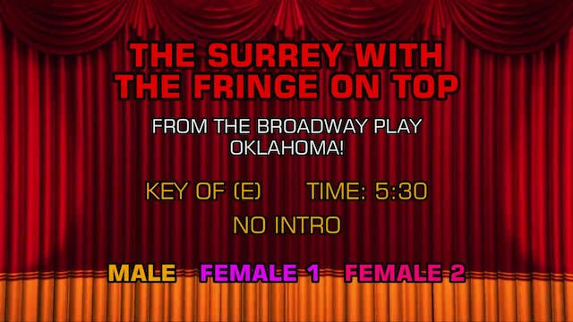 Oklahoma! - The Surrey With the Fring...