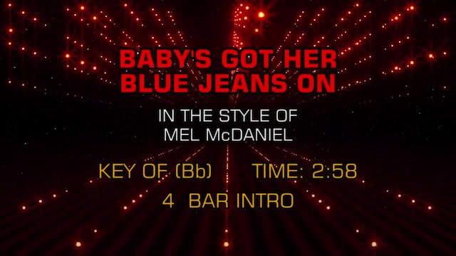 Mel McDaniel - Baby's Got Her Blue Je...