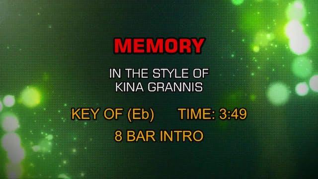 Kina Grannis - Memory