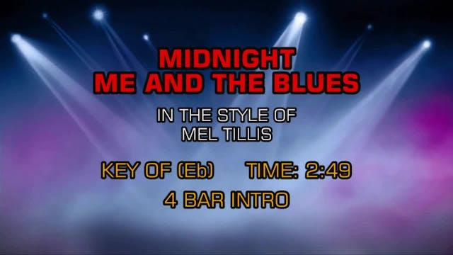Mel Tillis - Midnight, Me And The Blues