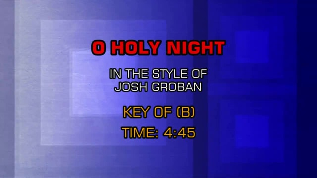 Josh Groban - O Holy Night