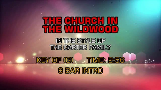 Traditional Gospel - The Church In The Wildwood