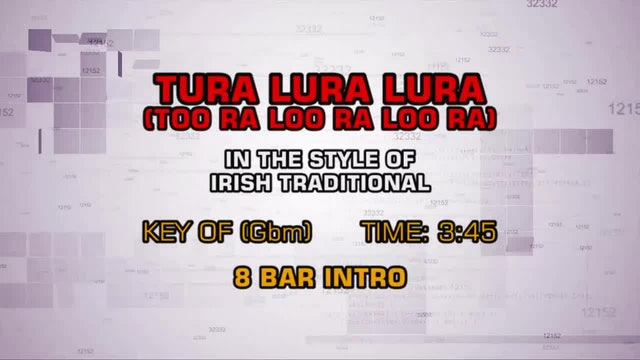 Traditional Irish Lullaby - Tura Lura Lura (Too Ra Loo Ra Loo Ra)