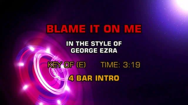 George Ezra - Blame It On Me