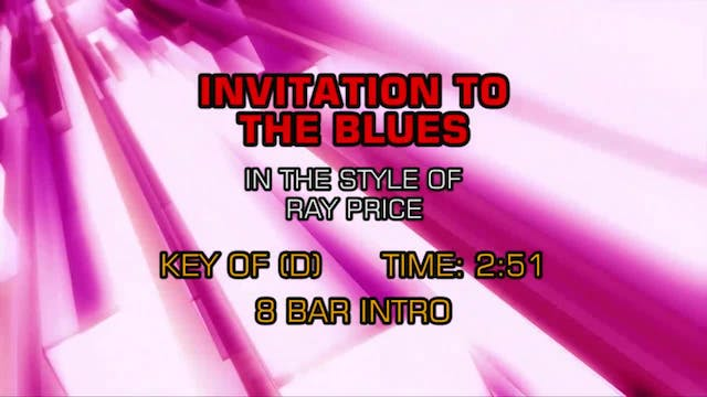 Ray Price - Invitation To The Blues