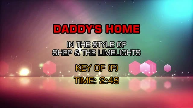 Shep & The Limelites - Daddy's Home