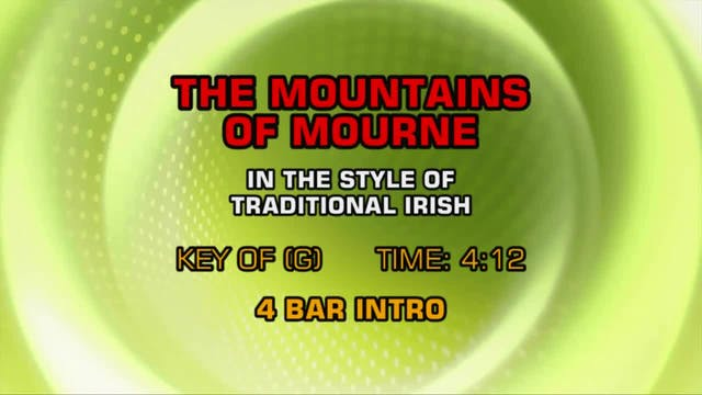 Traditional Irish - The Mountains Of ...