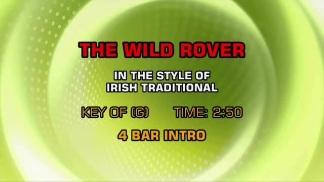 Traditional Irish - The Wild Rover