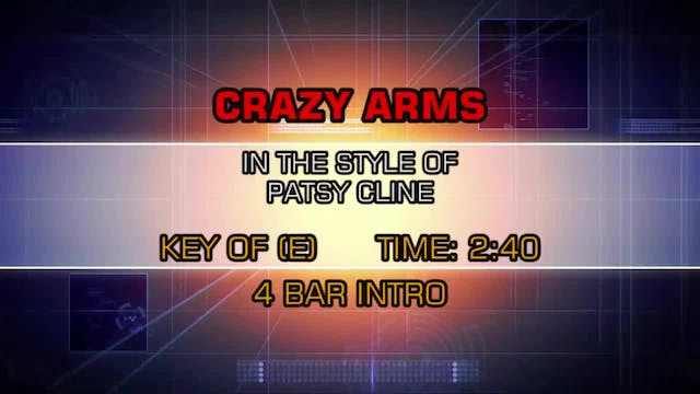 Patsy Cline - Crazy Arms