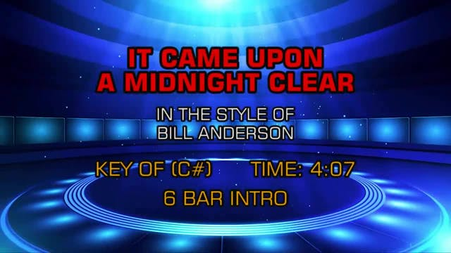 Bill Anderson - It Came Upon A Midnig...
