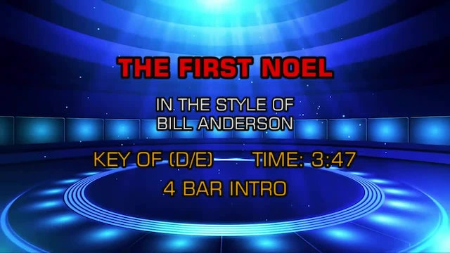 Bill Anderson - The First Noel