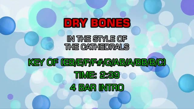 The Cathedrals - Dry Bones