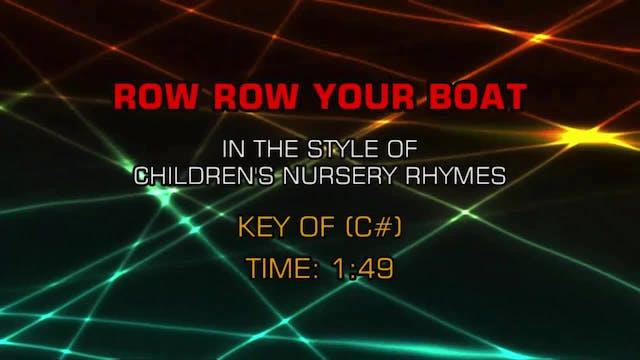 Children's Nursery Rhymes - Row Row Y...