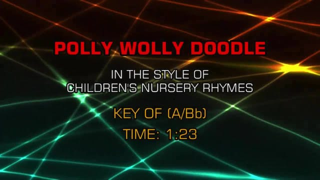 Children's Nursery Rhymes - Polly Wol...