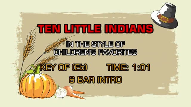 Children's Nursery Rhymes - Ten Littl...