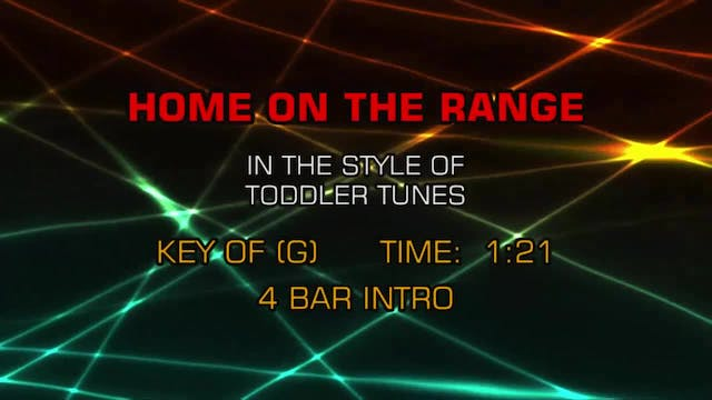 Children's Toddler Tunes - Home On Th...