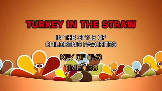 Children's Favorites - Turkey In The Straw
