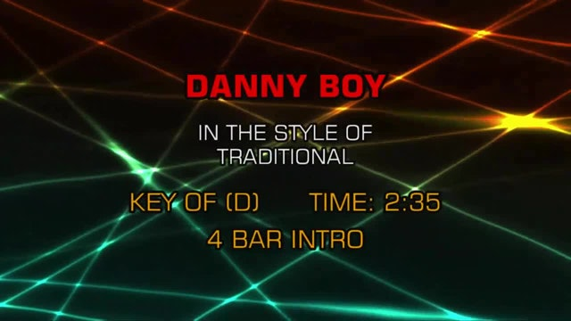 Traditional / Standards - Danny Boy