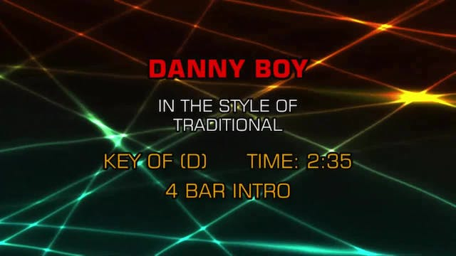 Traditional / Standards - Danny Boy