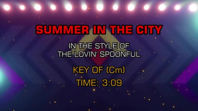 Lovin' Spoonful - Summer In The City