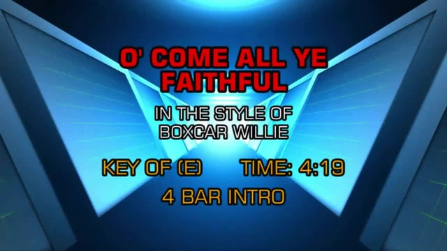 Boxcar Willie - O' Come All Ye Faithful