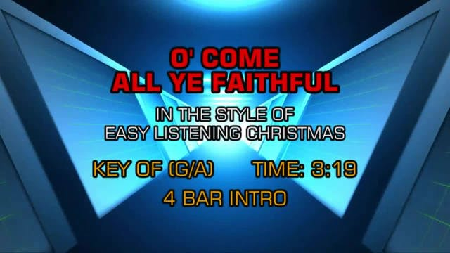 The Lettermen - O' Come All Ye Faithful