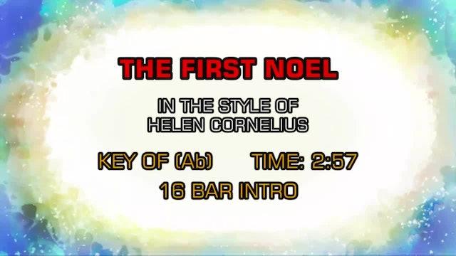 Helen Cornelius - The First Noel