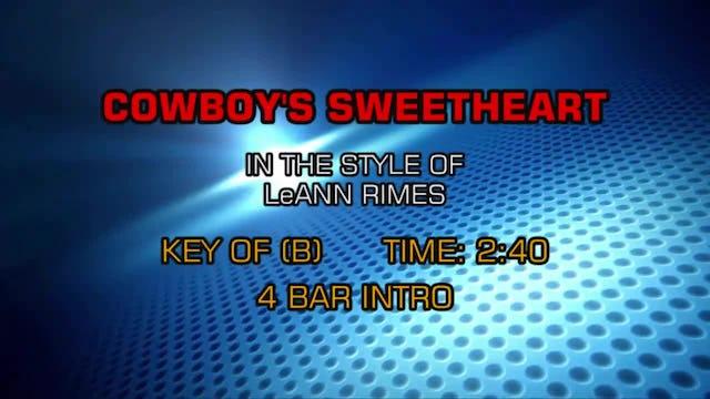 LeAnn Rimes - Cowboy's Sweetheart