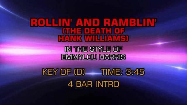 Emmylou Harris - Rollin' And Ramblin'