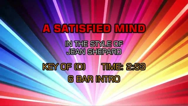 Jean Shepard - A Satisfied Mind