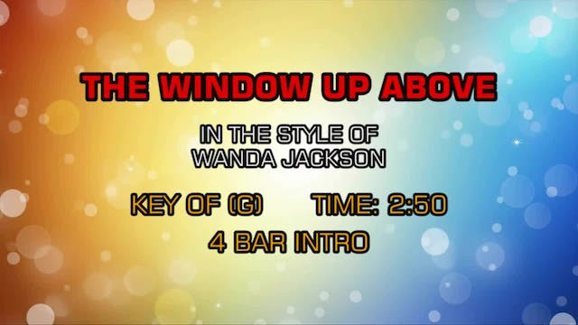 Wanda Jackson - The Window Up Above
