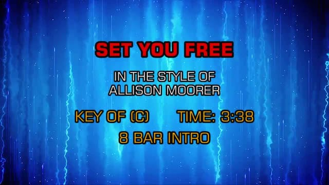 Allison Moorer - Set You Free