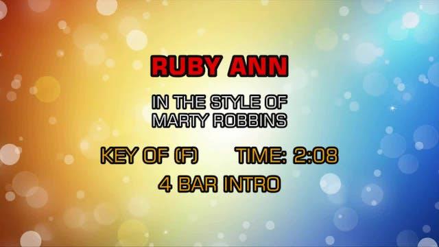 Marty Robbins - Ruby Ann