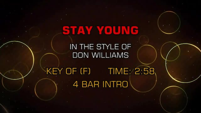 Don Williams - Stay Young
