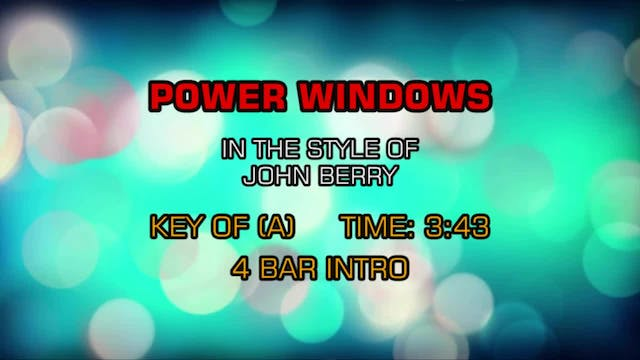 John Berry - Power Windows