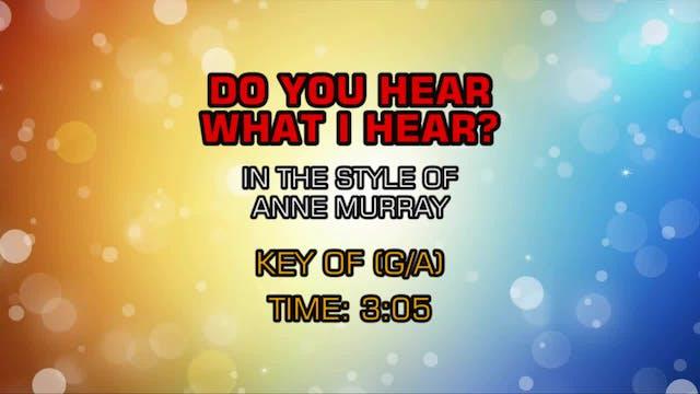 Anne Murray - Do You Hear What I Hear