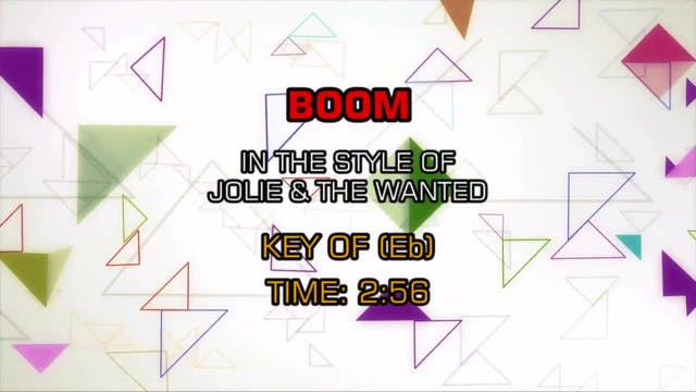 Jolie & The Wanted - Boom