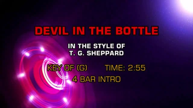 T. G. Sheppard - Devil In The Bottle